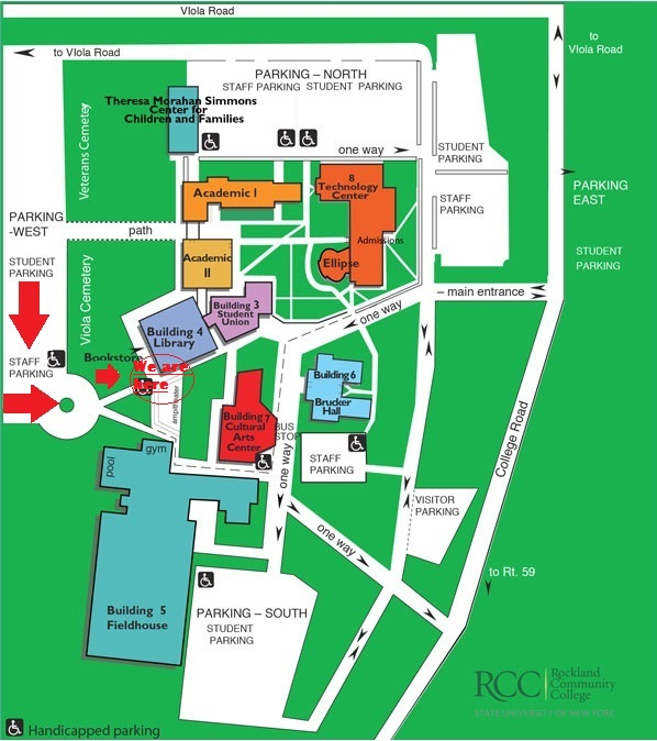 Rockland Community College Campus Map.Holocaust Museum Center For Tolerance And Education Contact Us